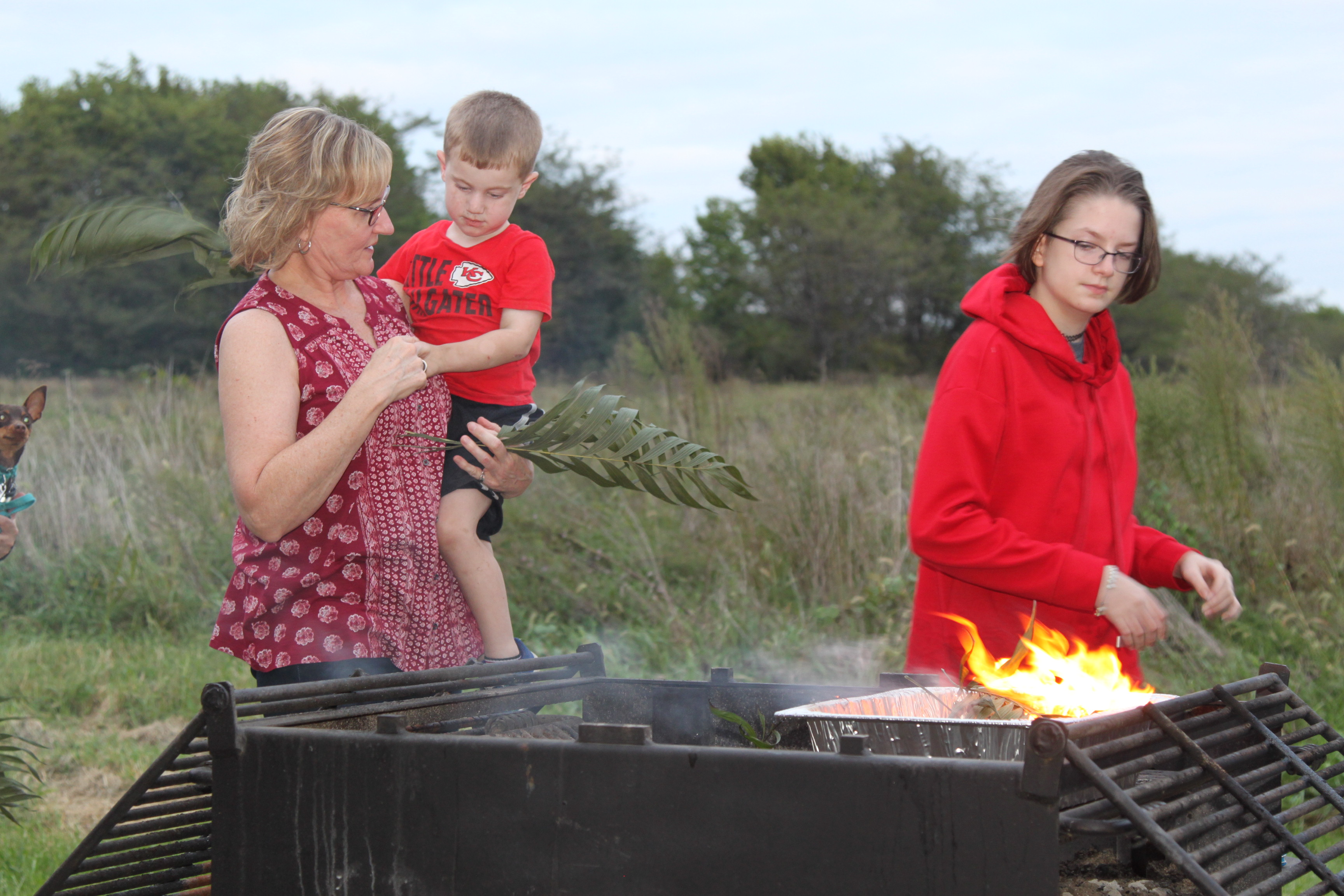 St. Luke's United Church of Christ-palm burning service11-Independence-MO.JPG
